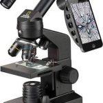 National Geographic, Microscopio óptico, 40X-1280X